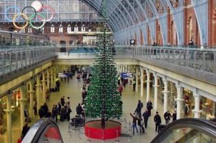 LEGO Christmas Tree in London
