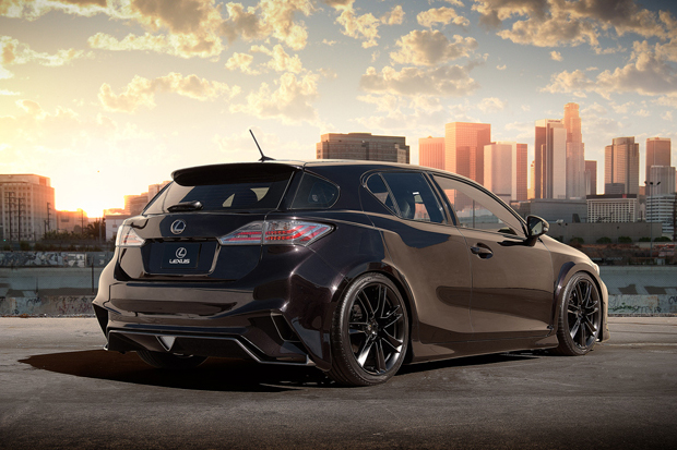lexus ct200h five axis project