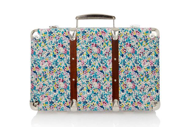 Liberty Print Suitcases