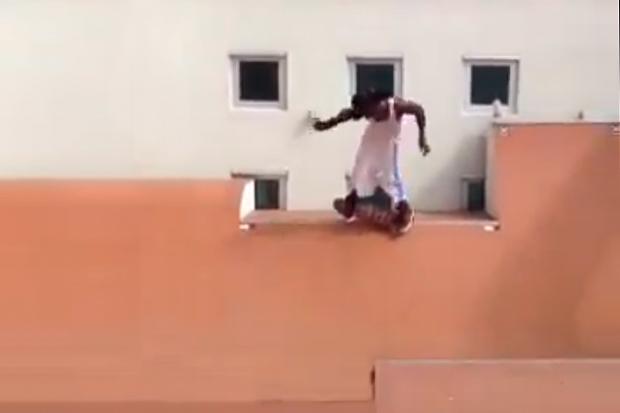 Lil Wayne Skating Transition