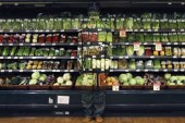 Liu Bolin: Hiding at Supermarket
