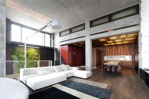 Loft Apartment by 2B Group