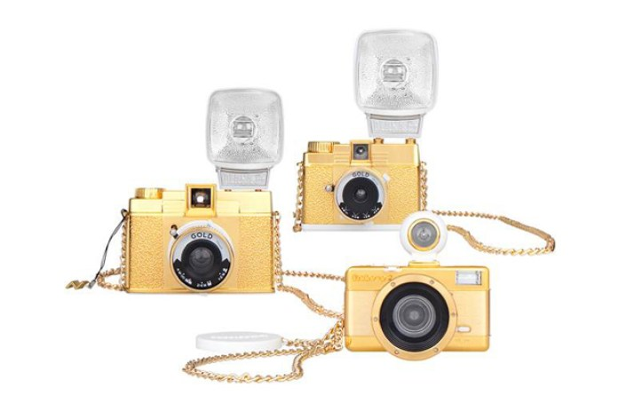 Lomography 2011 Gold Edition Cameras