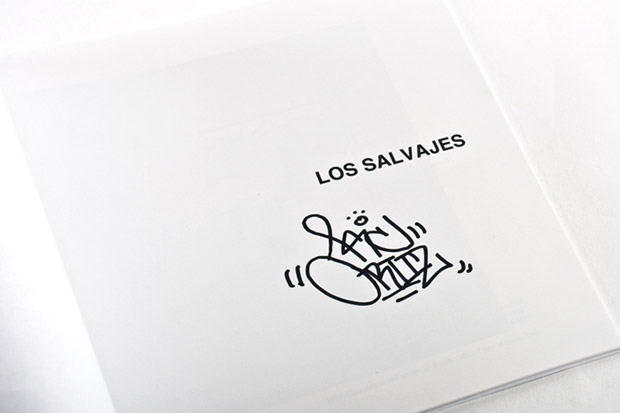 lrg x kc ortiz limited edition los salvajes photo book