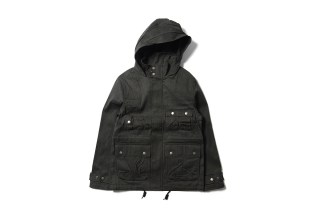 Maiden Noir Hooded Flight Jacket