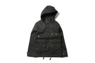 Maiden Noir Hooded Flight Jacket