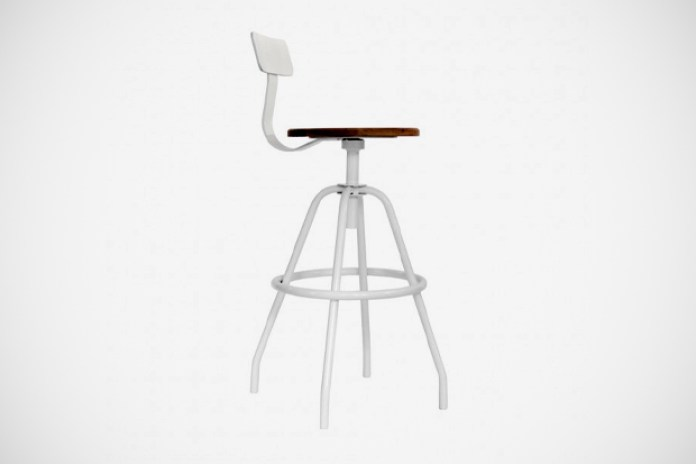 Makr Carry Goods Swivel Studio Work Stool