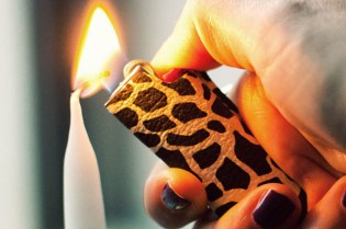 Matt Singer Printed Leather Lighter Covers