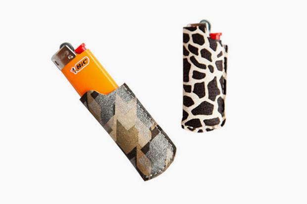 Matt Singer Printed Leather Lighter Covers