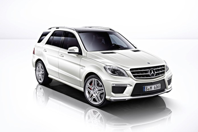 Mercedes-Benz 2012 ML63 AMG