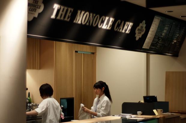monocle cafe hankyu mens tokyo