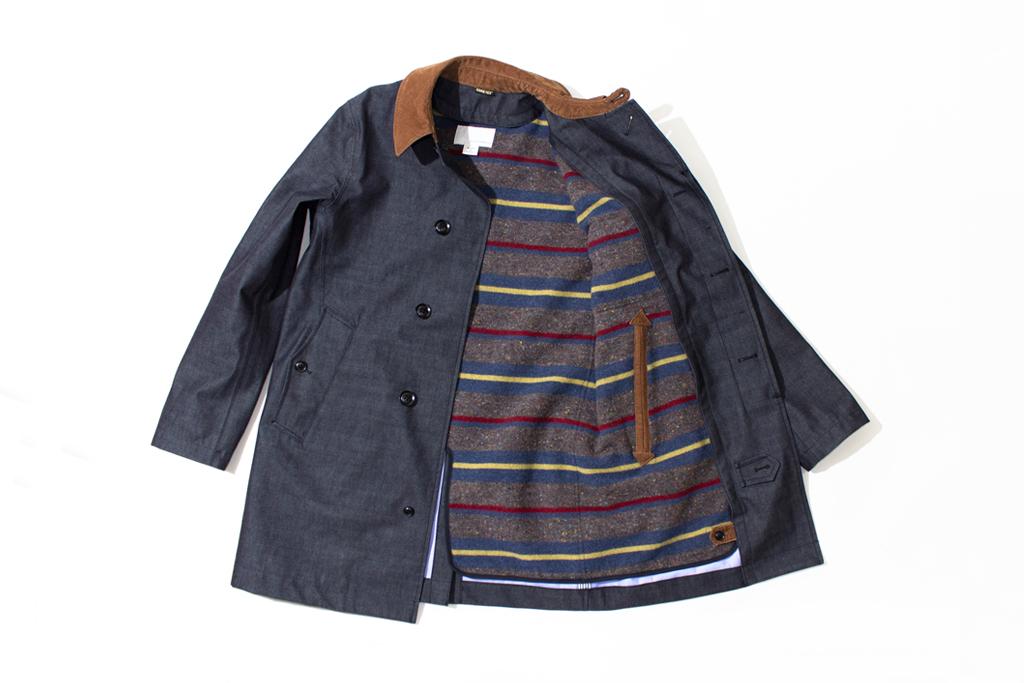nanamica GORE-TEX Soutien Collar Coat