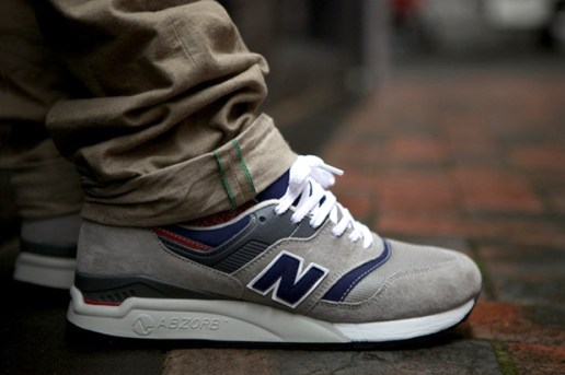 New Balance CM997HWB Grey/Navy