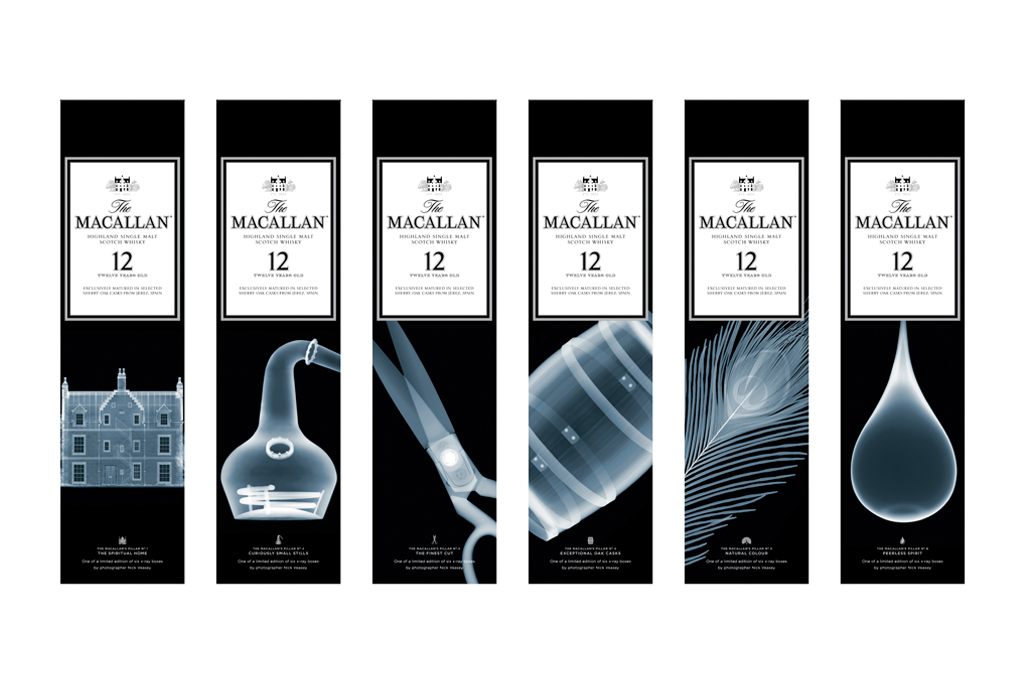 Nick Veasey x The Macallan Sherry Oak 12 Years Old Limited Edition Series