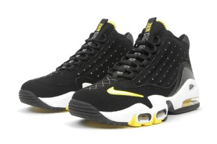Nike Air Griffey Max II Black/White-Tour Yellow