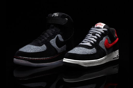 Nike iD Air Force 1 Limited Edition Wool Option