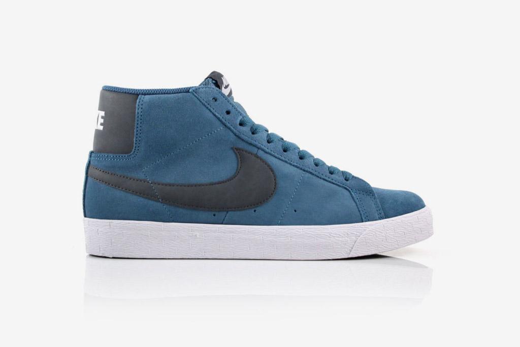 "Nike SB Blazer High ""Rift Blue"""