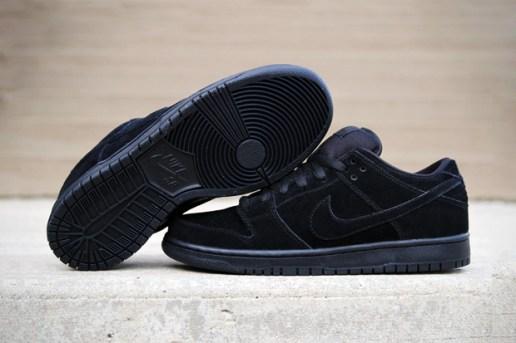 """Nike SB Dunk Low Pro """"Blackout"""""""