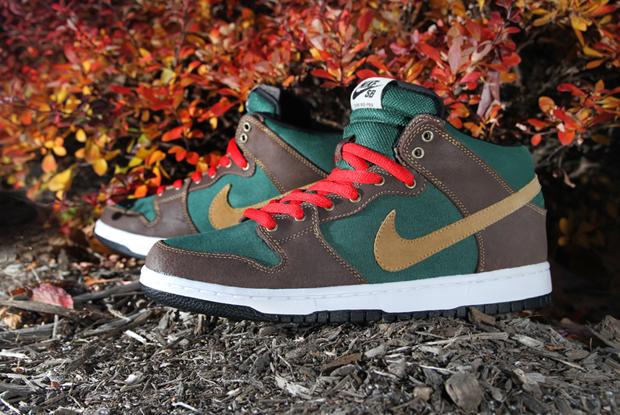 Nike SB Dunk Mid Pro Noble Green
