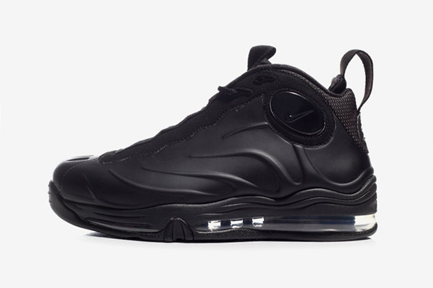 nike total air foamposite max blackanthracite