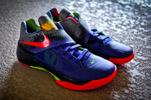 "Nike Zoom KD IV ""Nerf"" Further Look"