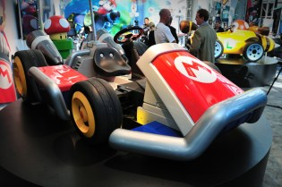 Nintendo x West Coast Customs Life-Size Mario Karts @ LA Auto Show