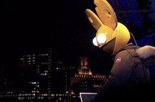 Nokia Lights Up London with 4D Projection featuring Deadmau5
