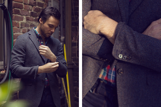 novh x gant rugger 2011 holiday collection lookbook