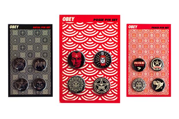 OBEY 2011 Pin Set