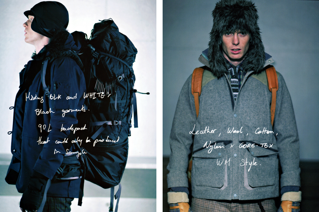outstanding magazine white mountaineering by yosuke aizawa