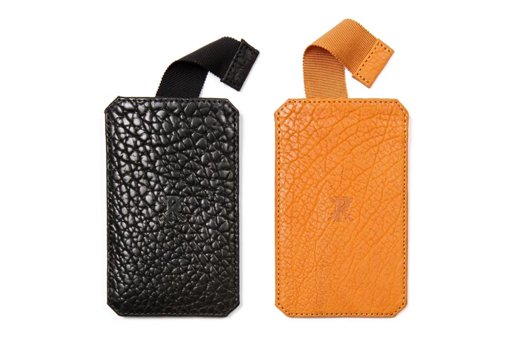 Parabellum Bison Leather iPhone Case