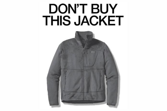 "Patagonia Black Friday ""Don't Buy This Jacket"" Advertisement"