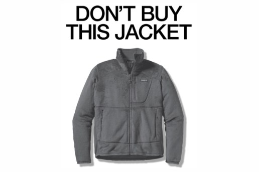 "Patagonia Black Friday ""Don't Buy This Jacket"" Advertisement"