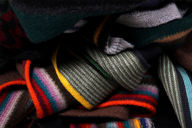 Paul Smith 2011 Fall/Winter Scarves