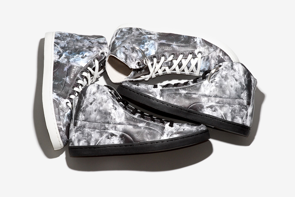 """PUMA by Alexander McQueen """"Ice Print"""" Sneakers"""