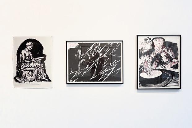 "Raymond Pettibon ""Desire in Pursuyt of the Whole"" Exhibition Recap"