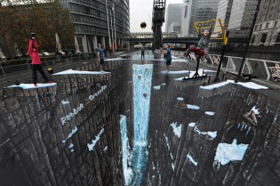 Reebok CrossFit: 3D Street Art World Record Project
