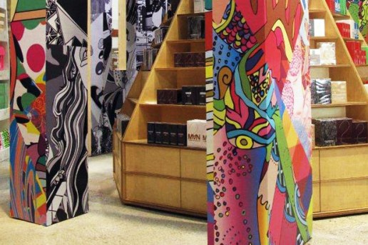 "Rei Kawakubo x AVAF ""Hut Invasion"" Installation @ Dover Street Market"