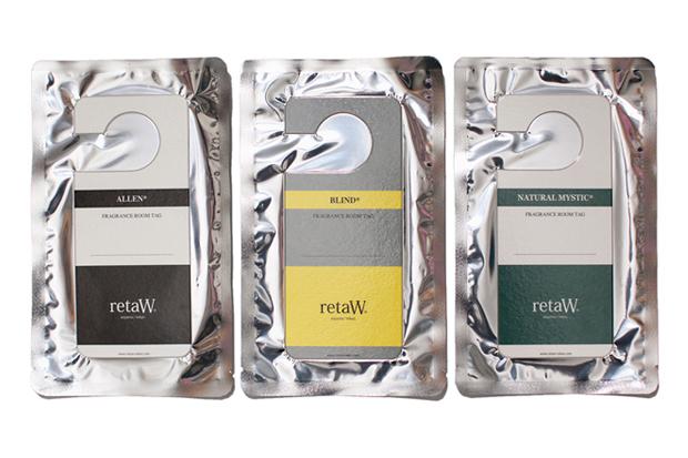 retaW Fragrance Room Tag