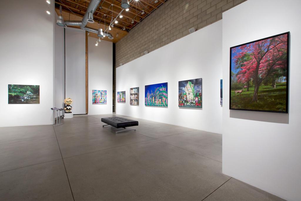 ron english seasons in supurbia exhibition corey helford gallery recap