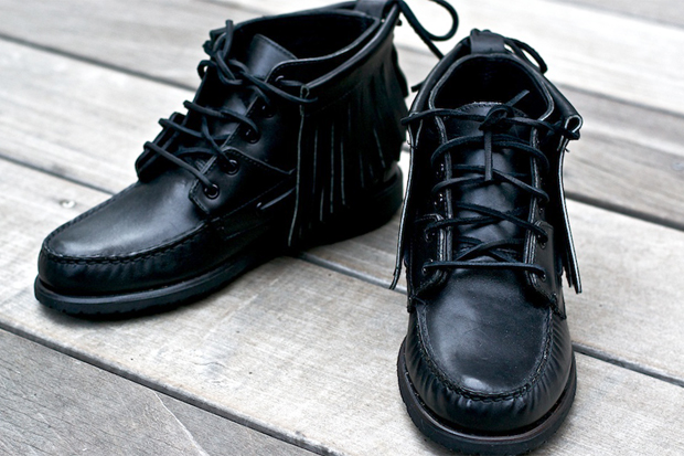 Ronnie Fieg for Sebago 2011 Fall/Winter Iroquois Boots