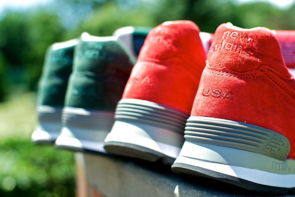 Ronnie Fieg x New Balance 574 Made in USA Collection