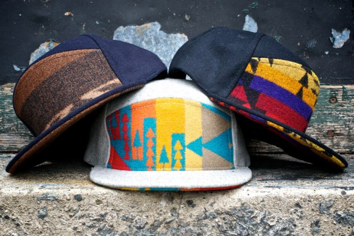 Ronnie Fieg for Quintin Pendleton 6-Panel Snapbacks
