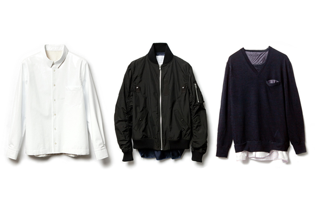 sacai x fragment design Capsule Collection