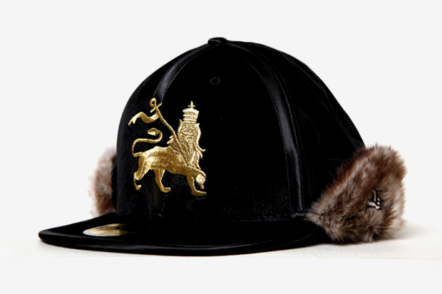 SASQUATCHfabrix. x New Era Rabbit Fur Ninja Fitted Cap