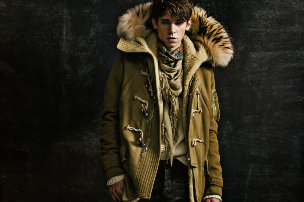 SENSE: Balmain Homme 2011 Fall/Winter Editorial