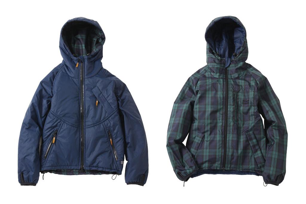 silas x harris tweed x snugpak reversible jacket