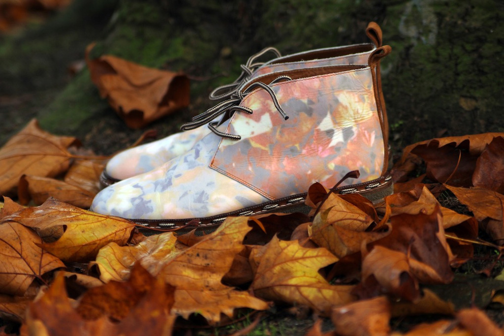 sixby6bloggers style salvage x six london autumn leaves kicking boot