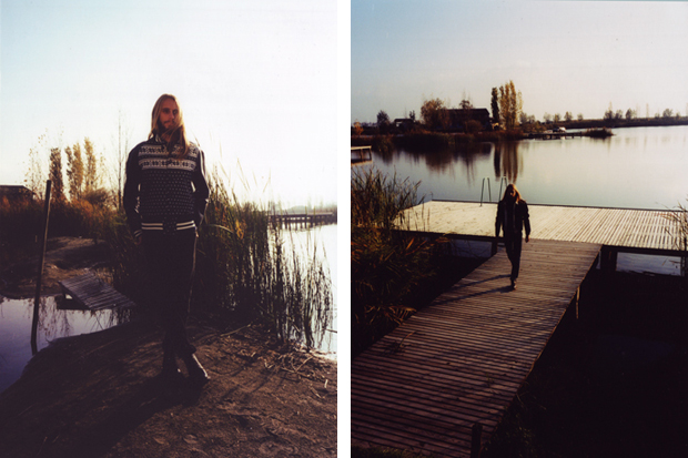 "Slam Jam 2011 Winter ""Portra"" Lookbook"