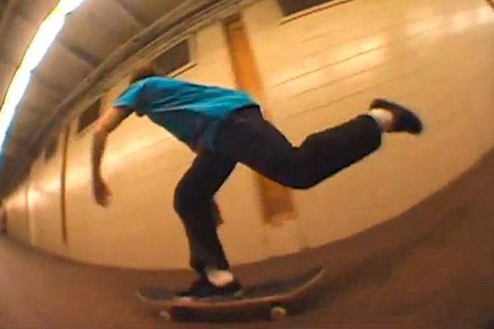 SLAP Magazine: New York Clip 11 - Subway Skating